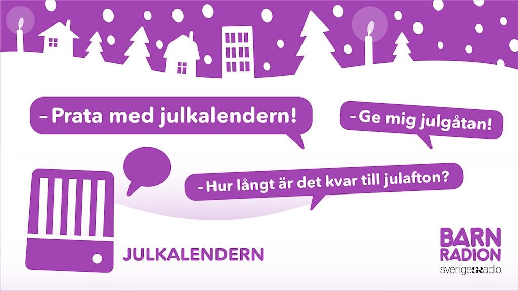 Säg: Prata med Julkalendern till din smarta högtalare som pratar svenska