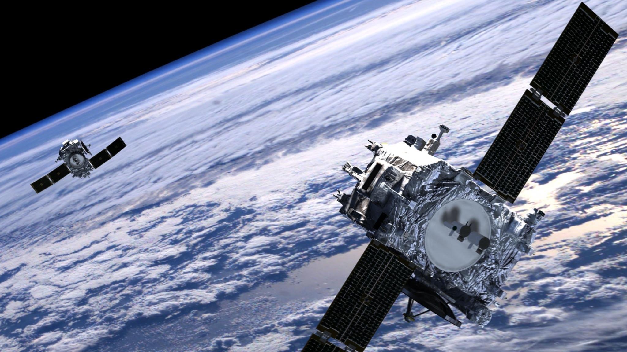 Saterlit, NASA