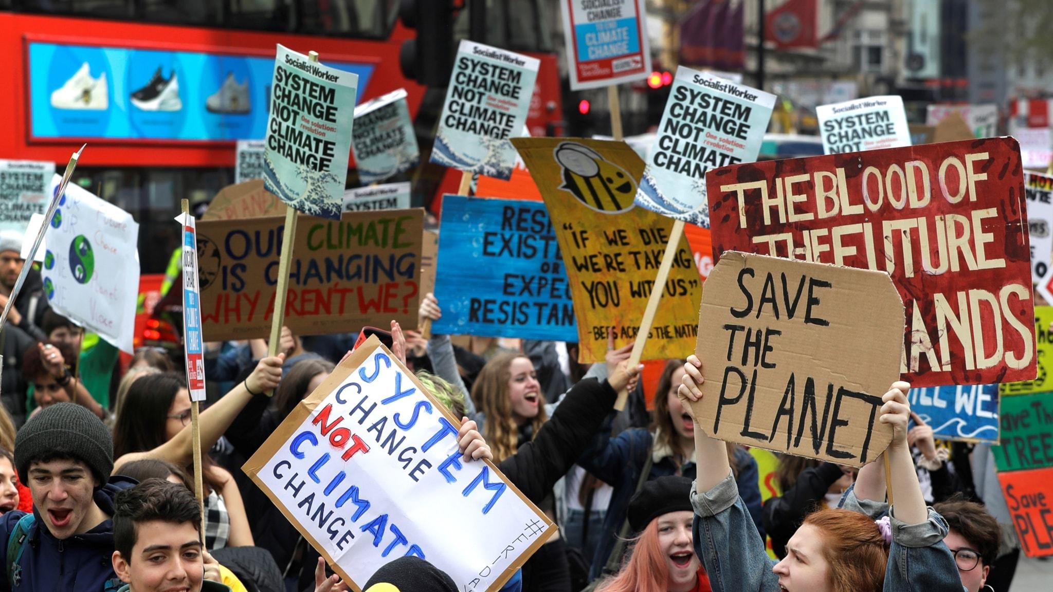 Nuoret nousevat jälleen barrikadeille – syynä ilmastohuoli