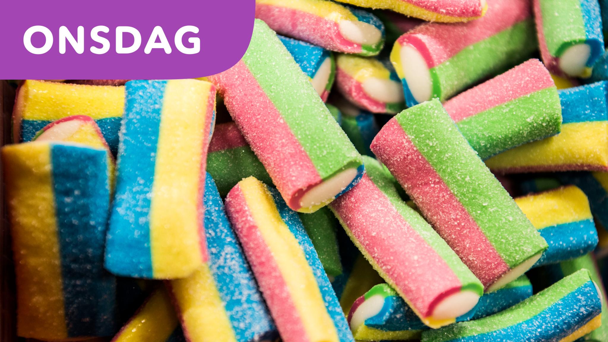 100 ton fejkat godis upptäckt i Malmö