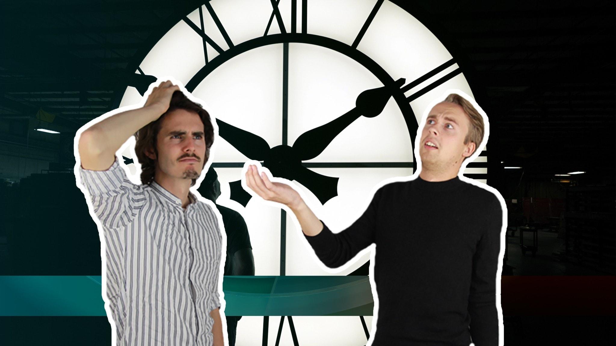 Juniornyheterna om ett klockmysterium
