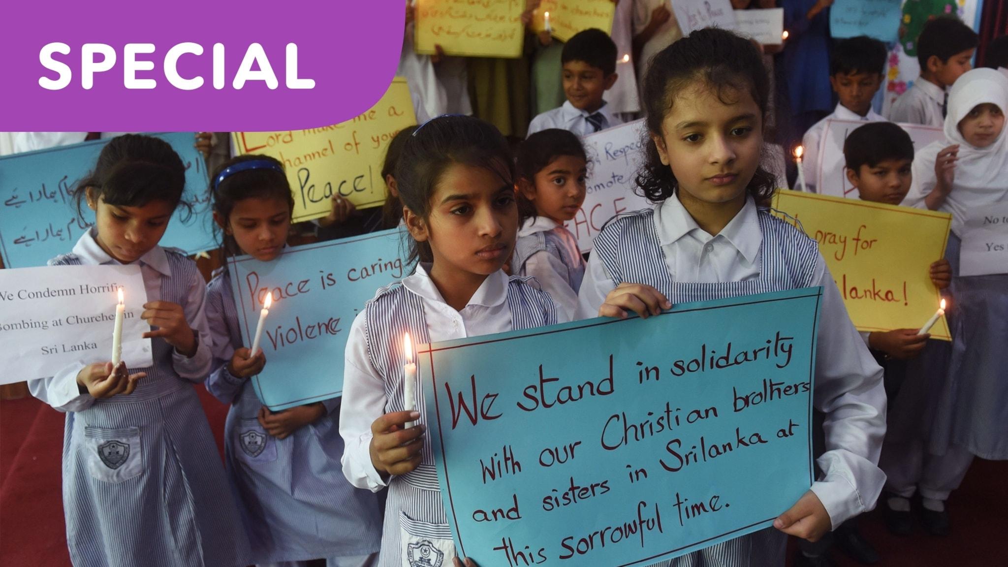 SPECIAL: Bomberna i Sri Lanka