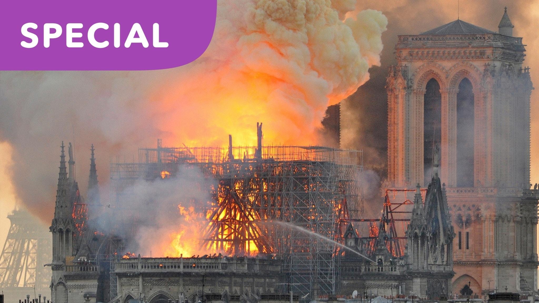 SPECIAL: Notre-Dame och branden som chockade världen