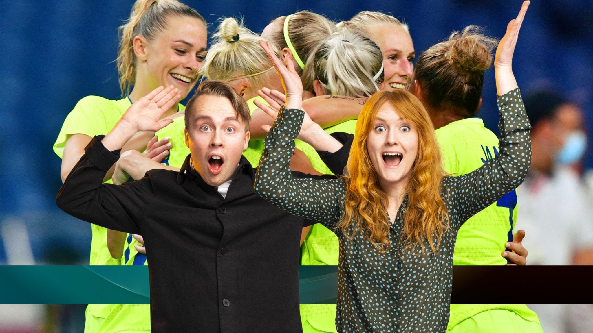 Sverige vidare i OS-fotbollen