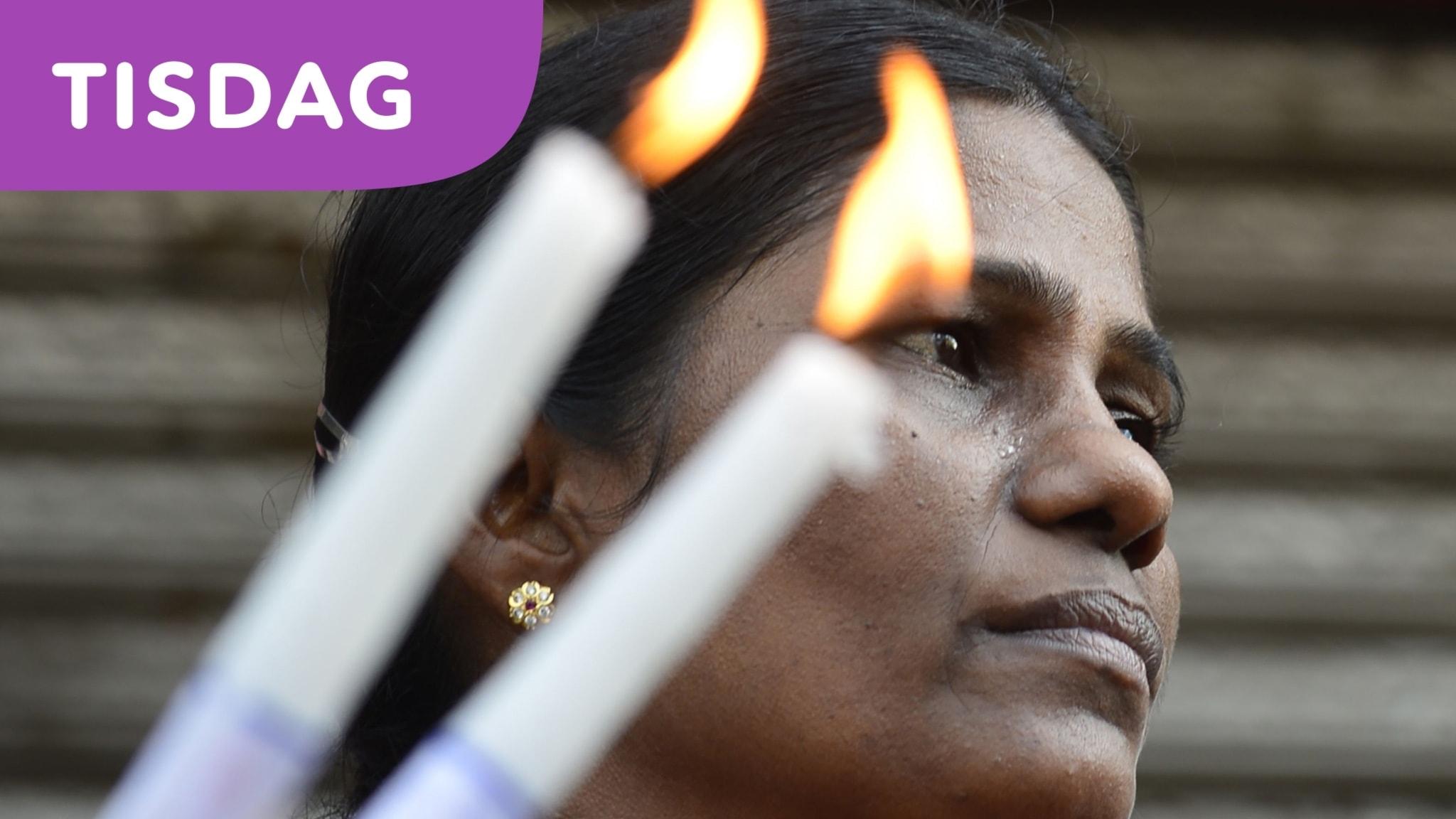 Flera sörjer i Sri Lanka efter terrordåden