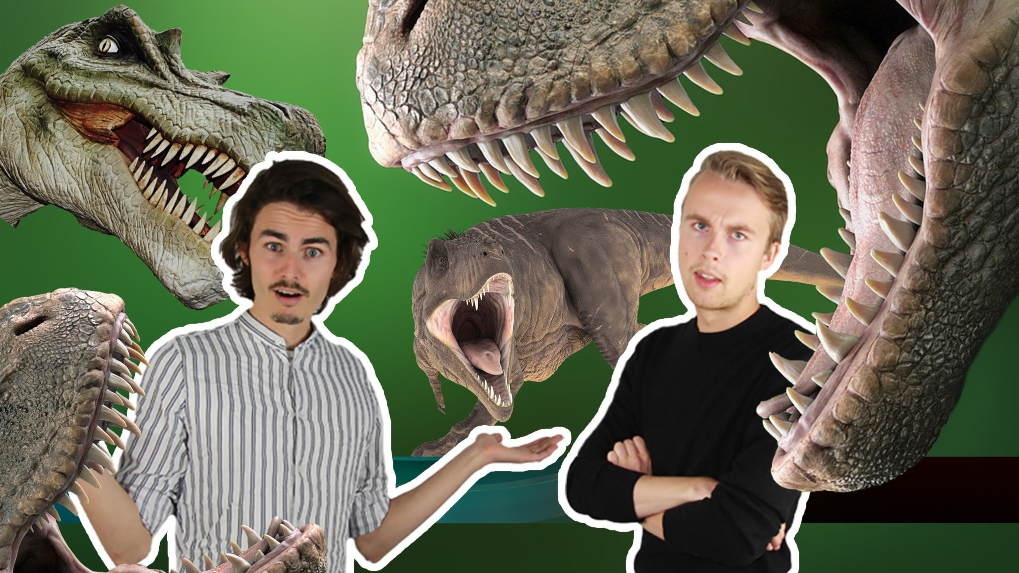Massa livsfarliga T-rexar