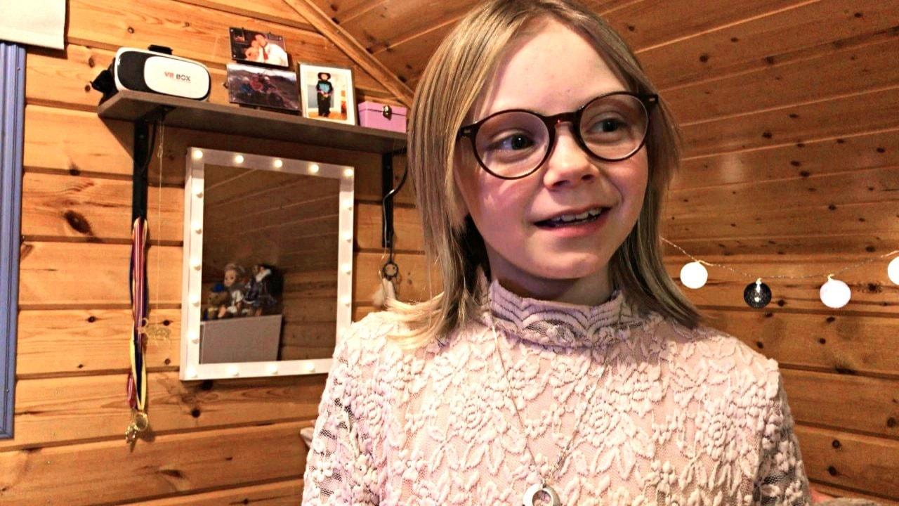 10-åriga Ella Márge Nutti gör röst i Frost 2 på samiska