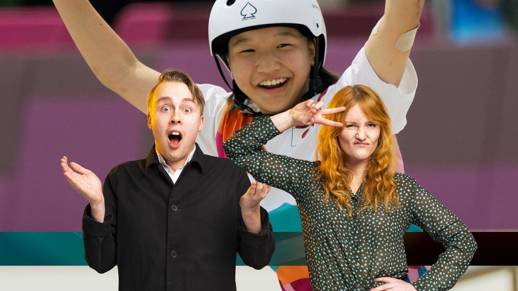 OS i skateboard dominerade av tonåringar,