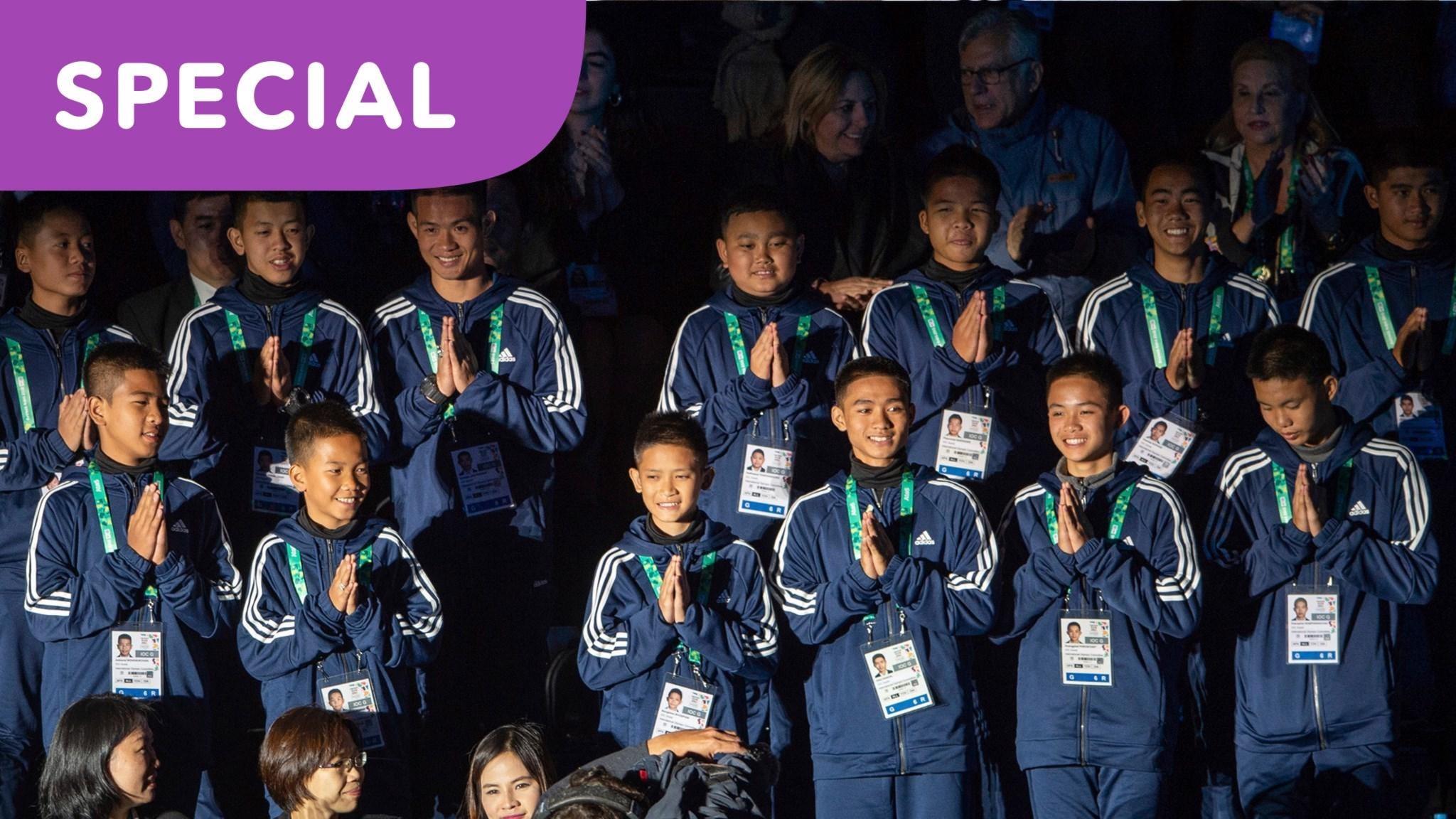 SPECIAL: Fotbollslaget i grottan och räddningen som engagerade världen