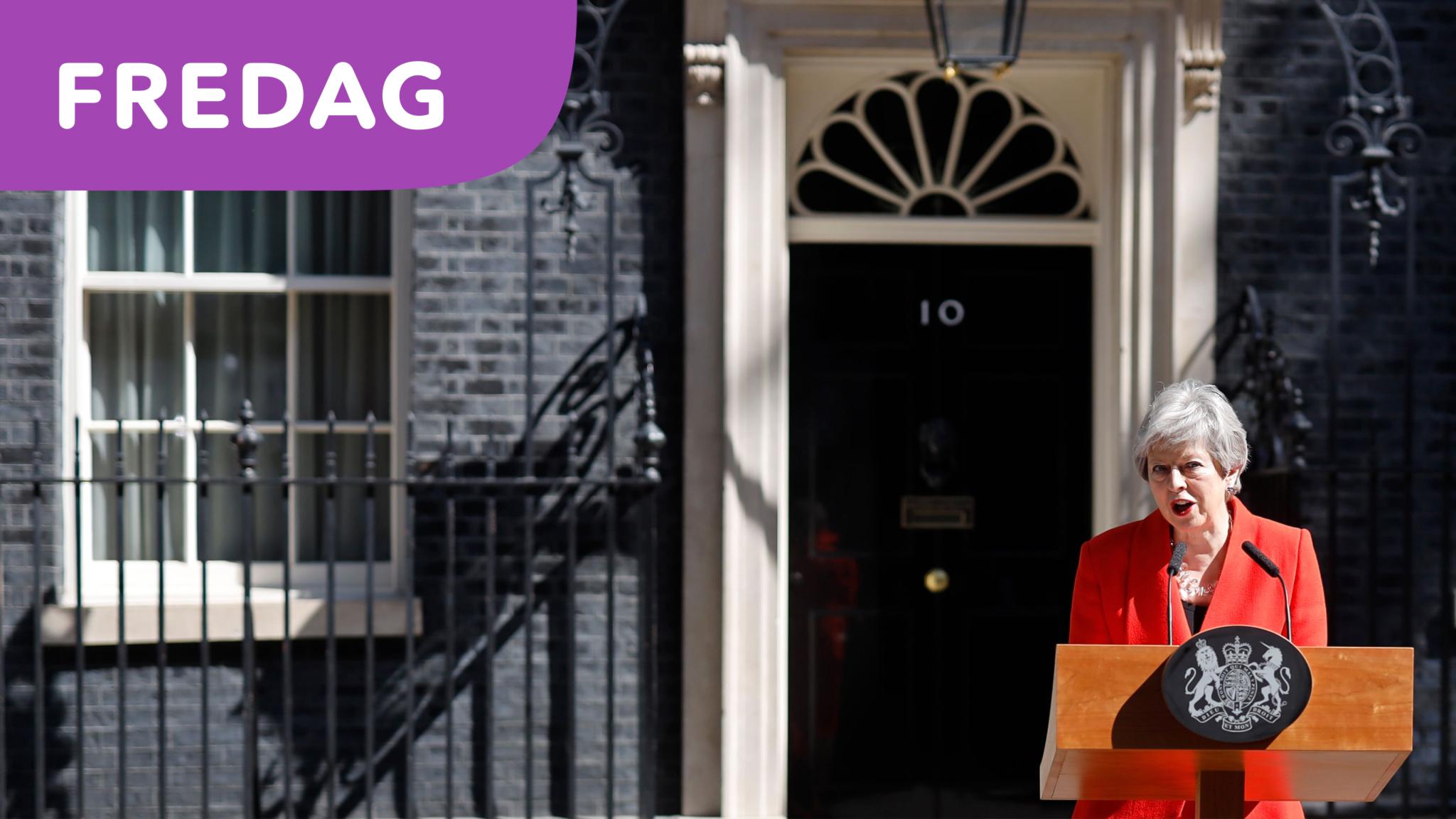 Storbritanniens premiärminister Theresa May avgår