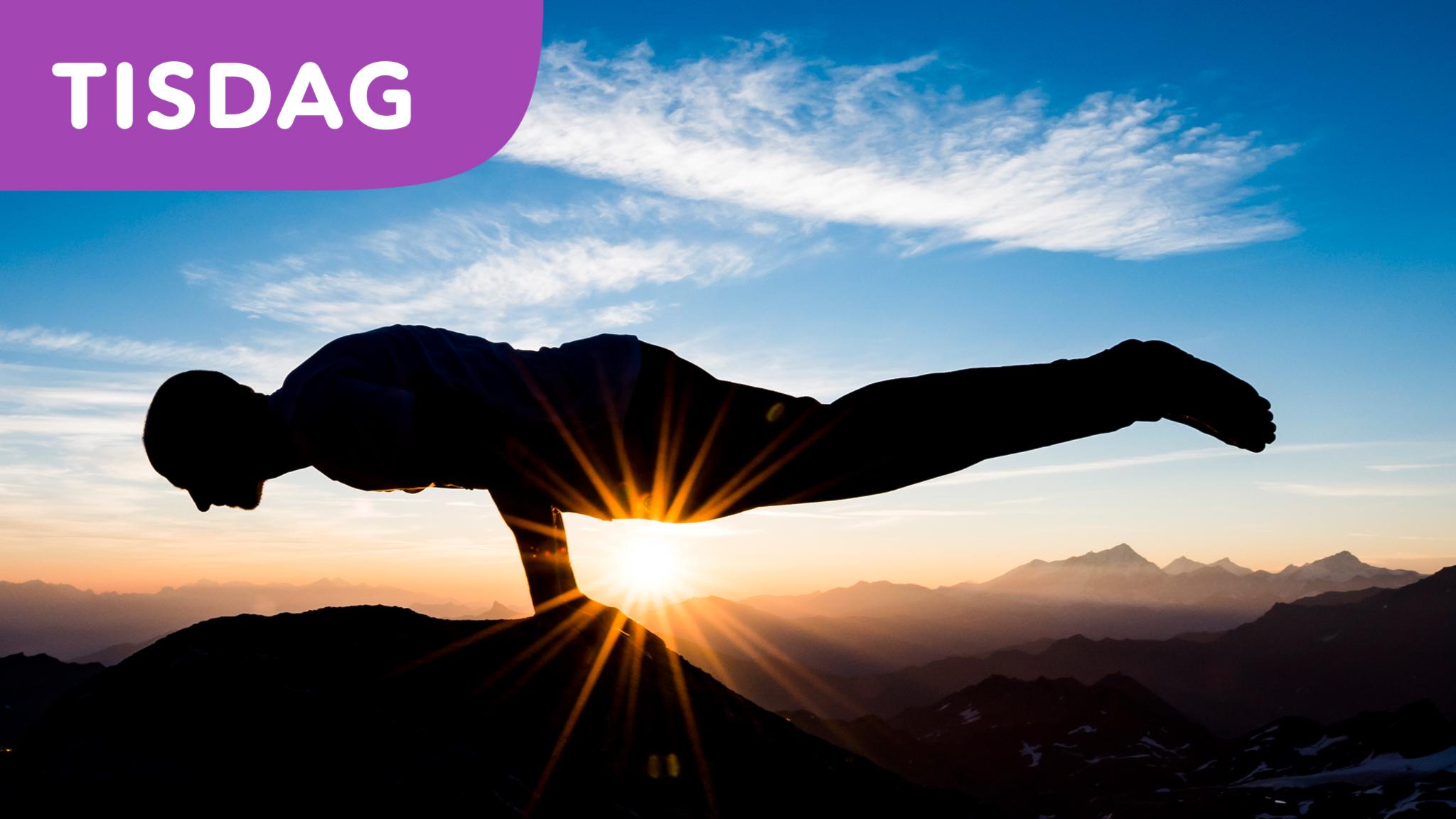 Yoga för morgonpigga skolelever