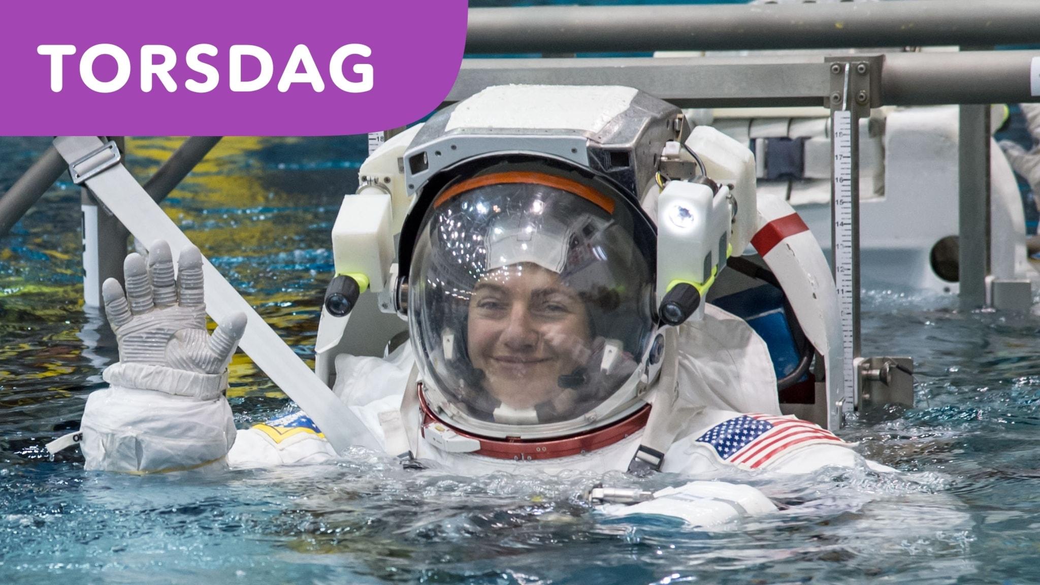 Hon blir första svenska kvinnan i rymden