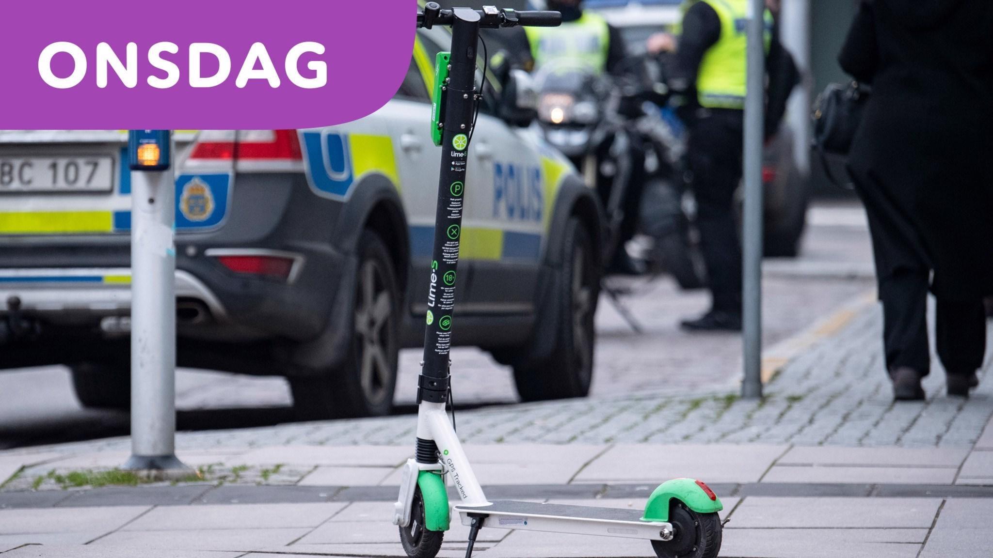 Olyckor på elsparkcyklar allt vanligare