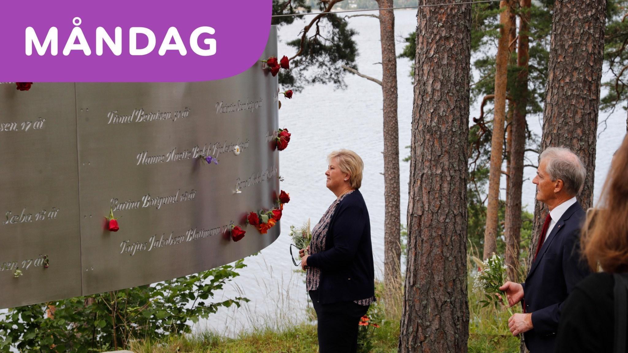 Årsdag för terrordådet på Utöya