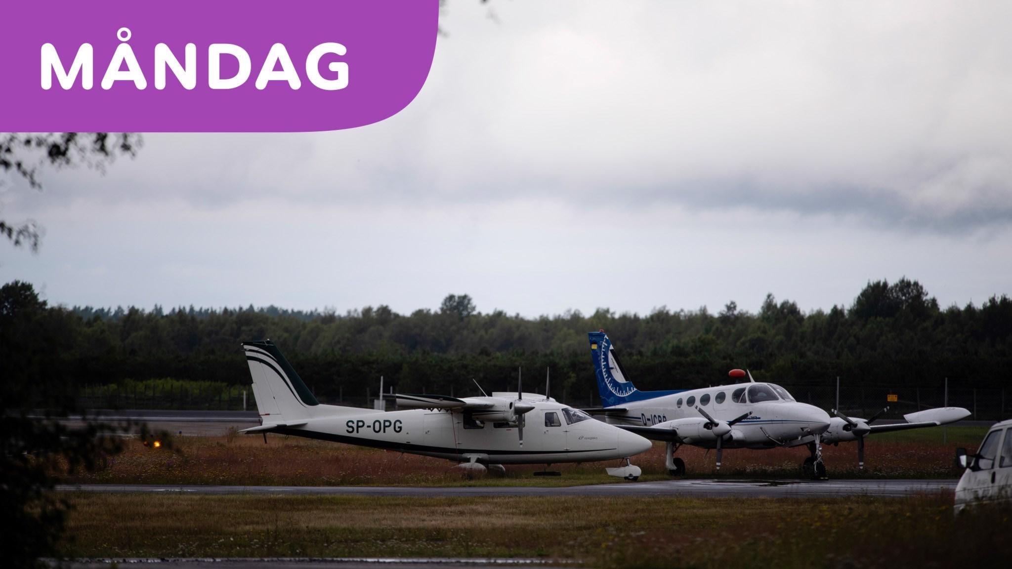 Allvarlig flygolycka i Umeå