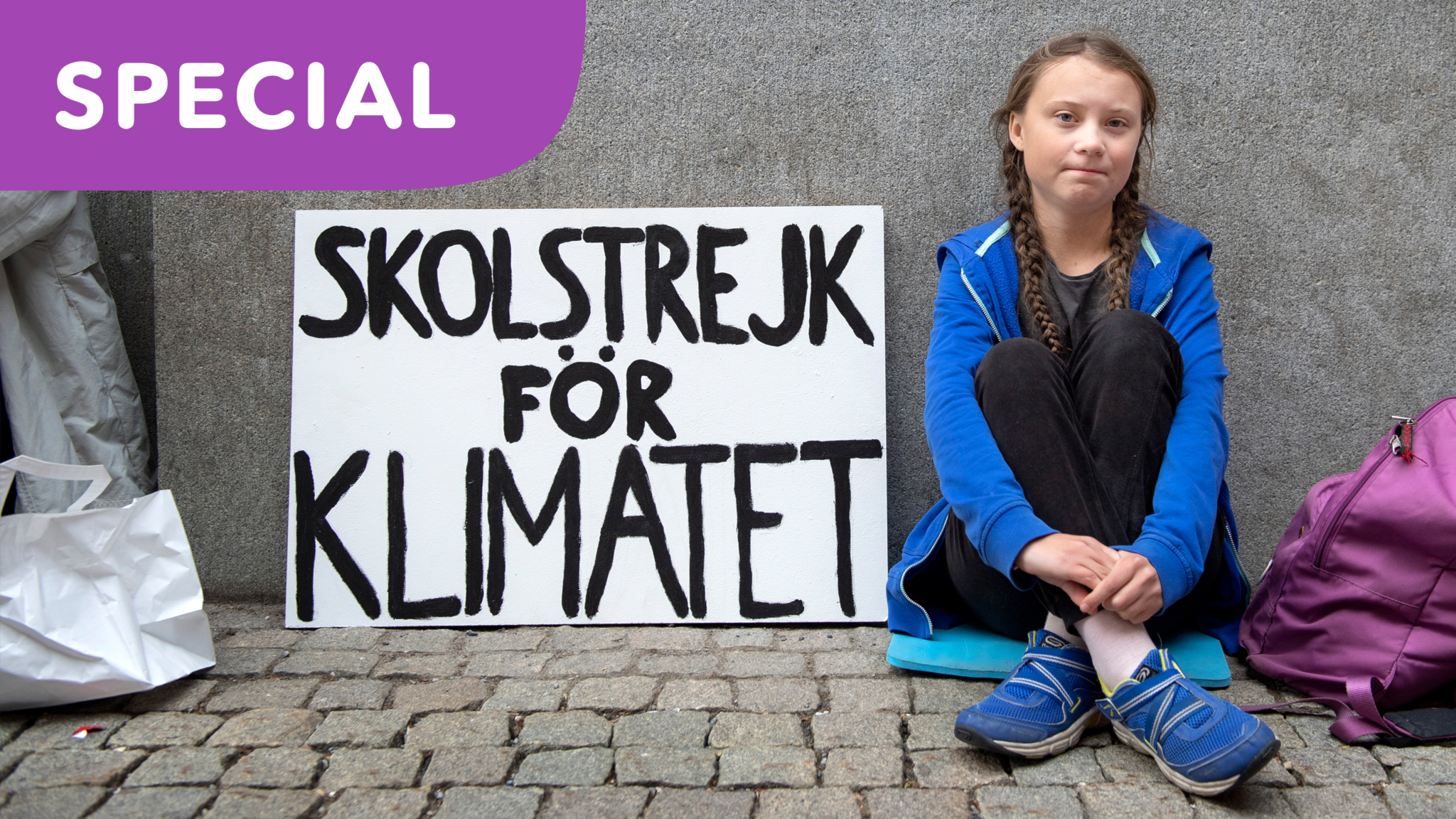 SPECIAL: Greta Thunberg – Från en gnista till brinnande kamp