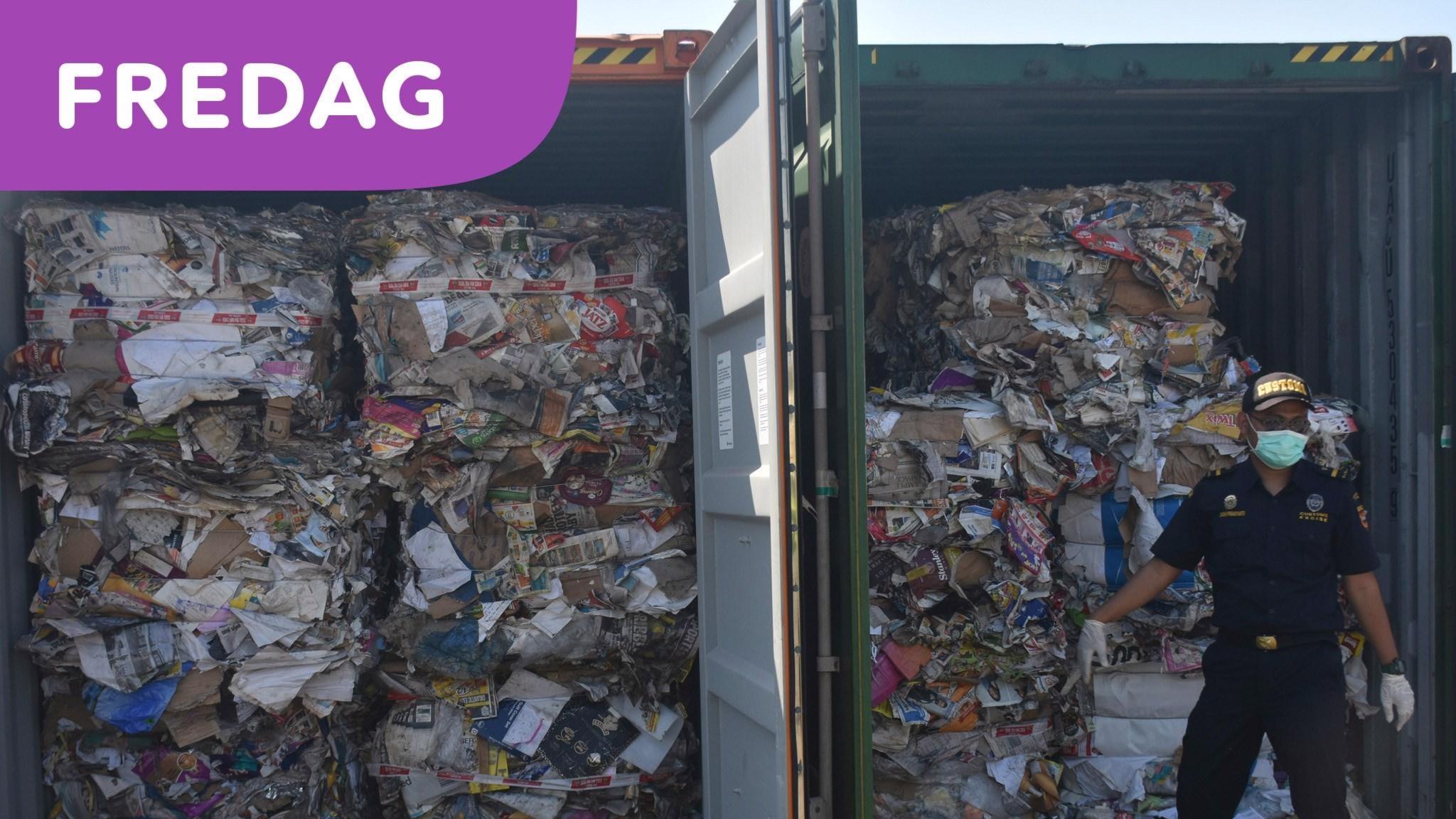 Bussigt sätt att öka återvinningen