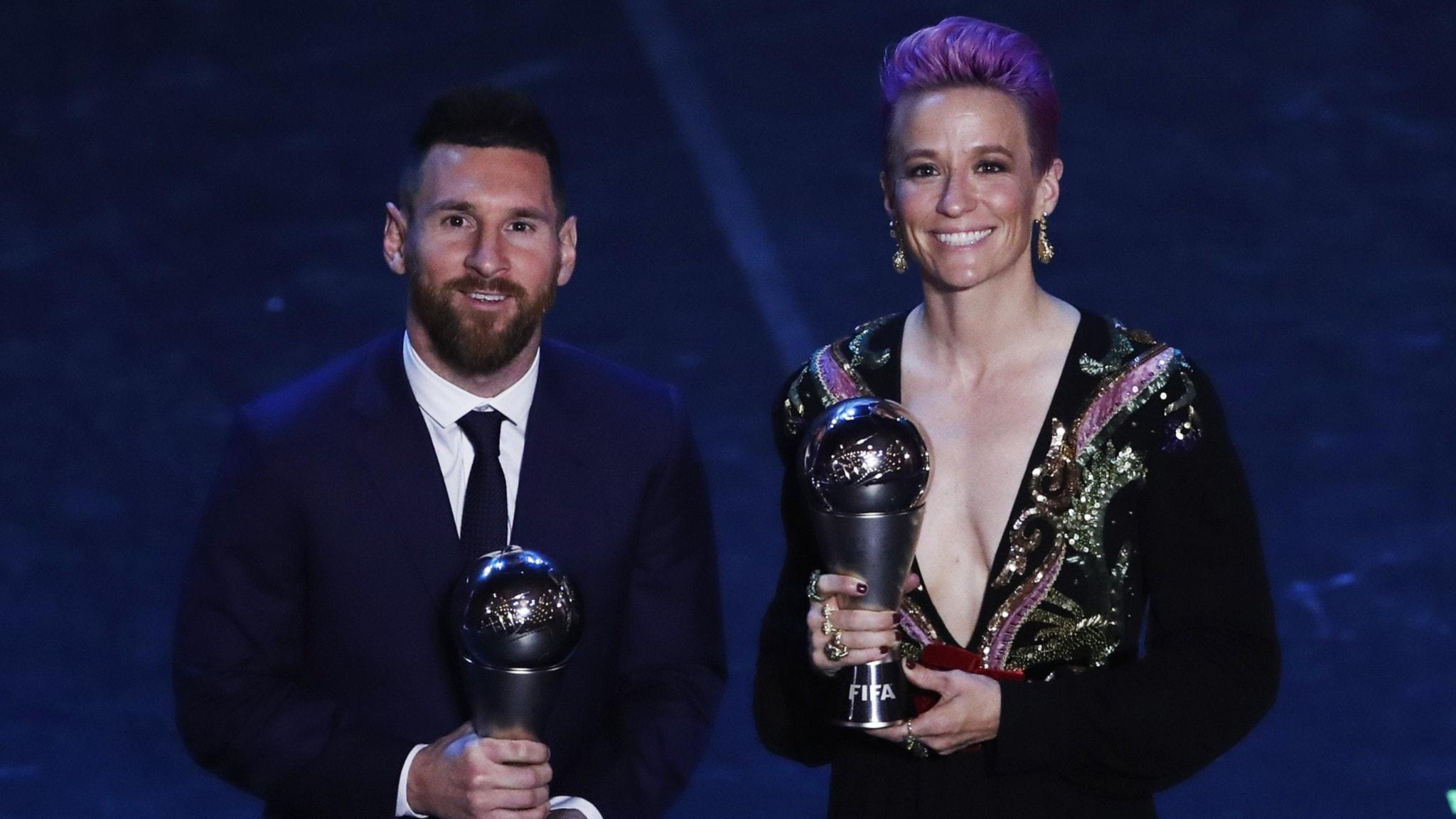 Världens bästa fotbollsspelare har fått pris