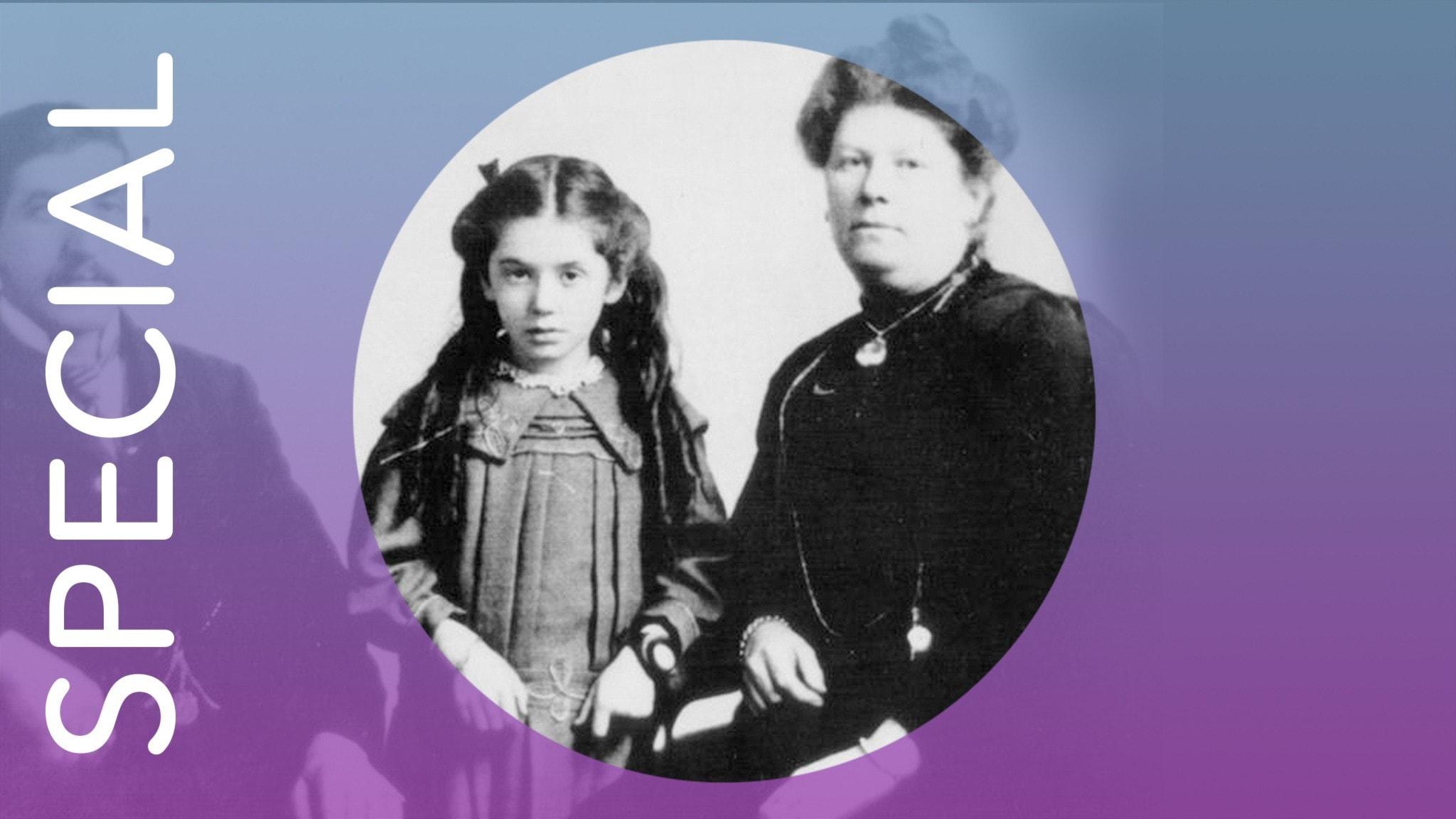 Eva Hart och hennes mamma Esther Hart