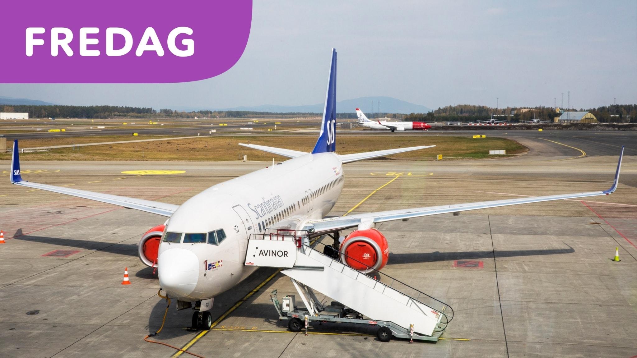 Rörigt på många flygplatser i Sverige