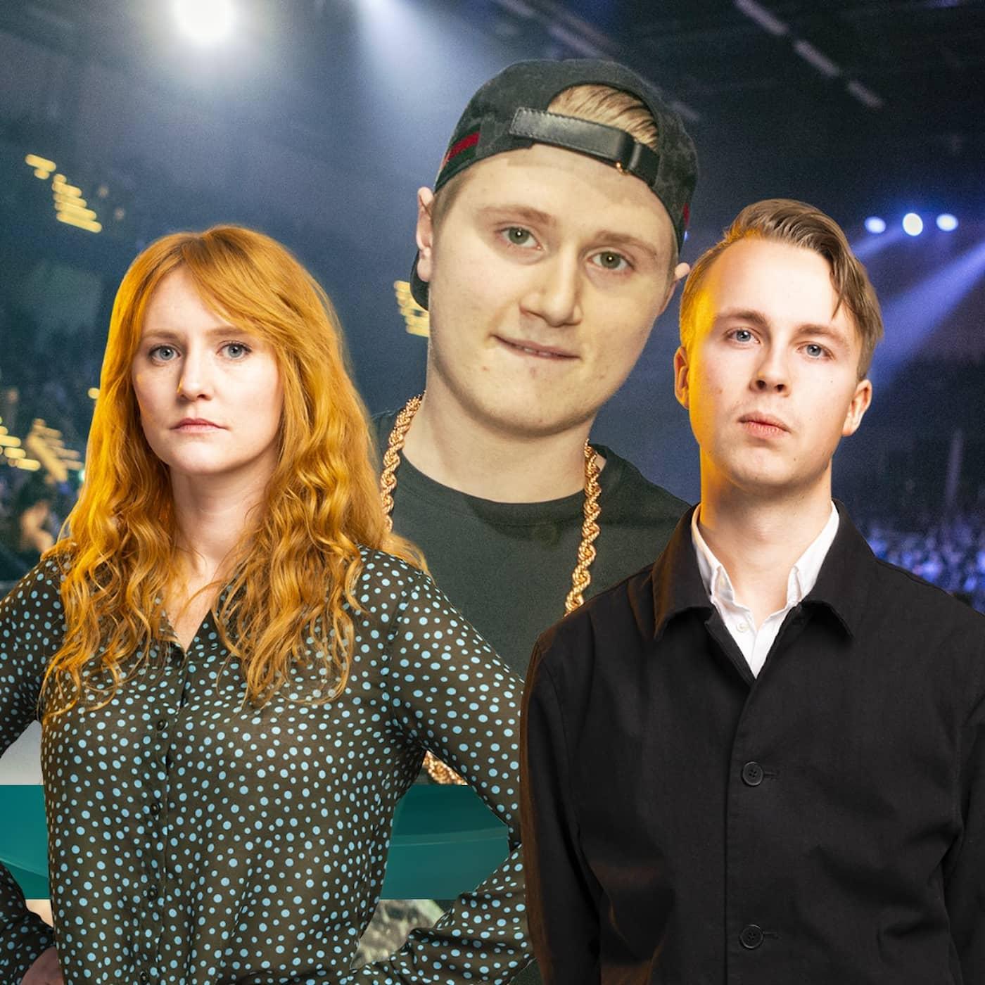 Många chockade efter rapparen Einárs död