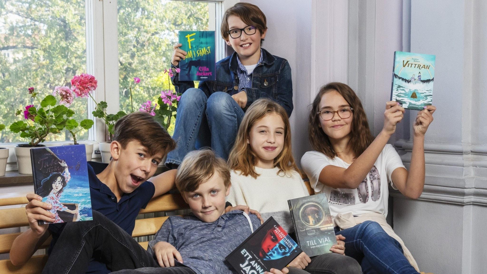 De ska utse årets bästa bok för 9–12-åringar