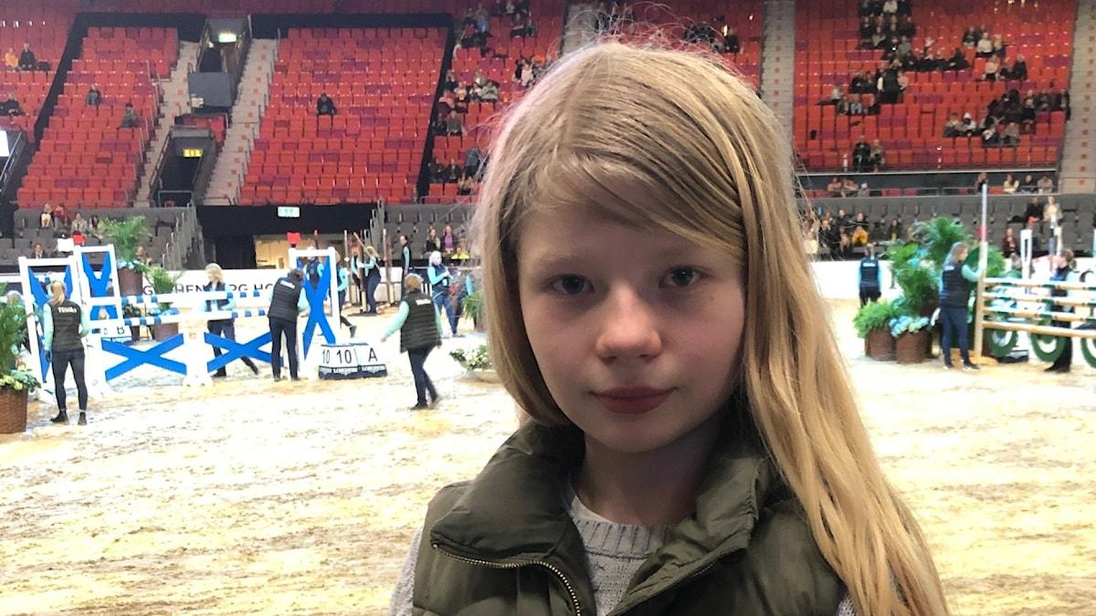 Bild på Amanda på Gothenburg Horse Show
