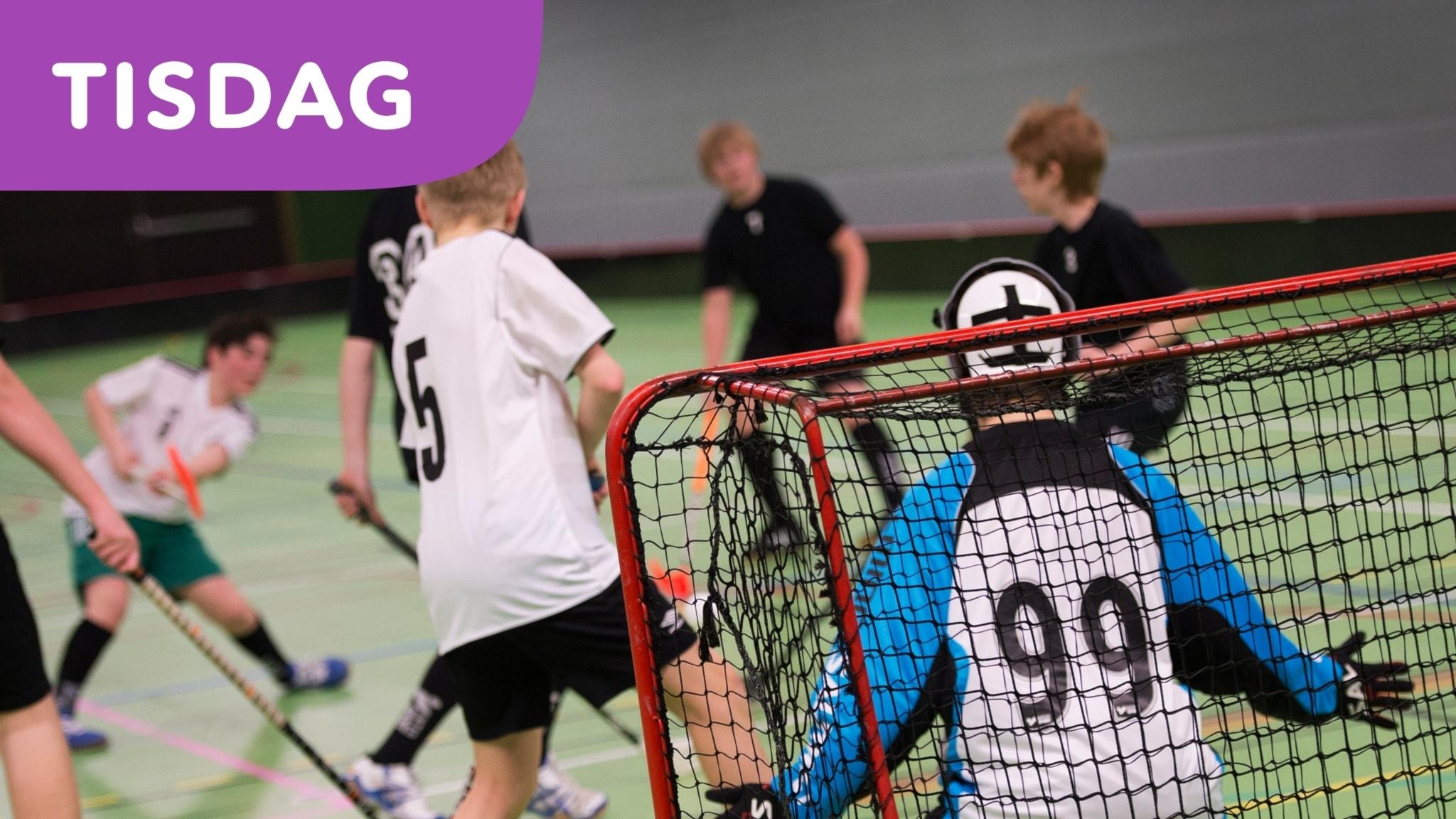 Pojkar mellan 7 och 12 år idrottar mindre