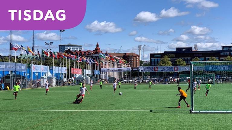 Världens största fotbollsturnering intar Göteborg