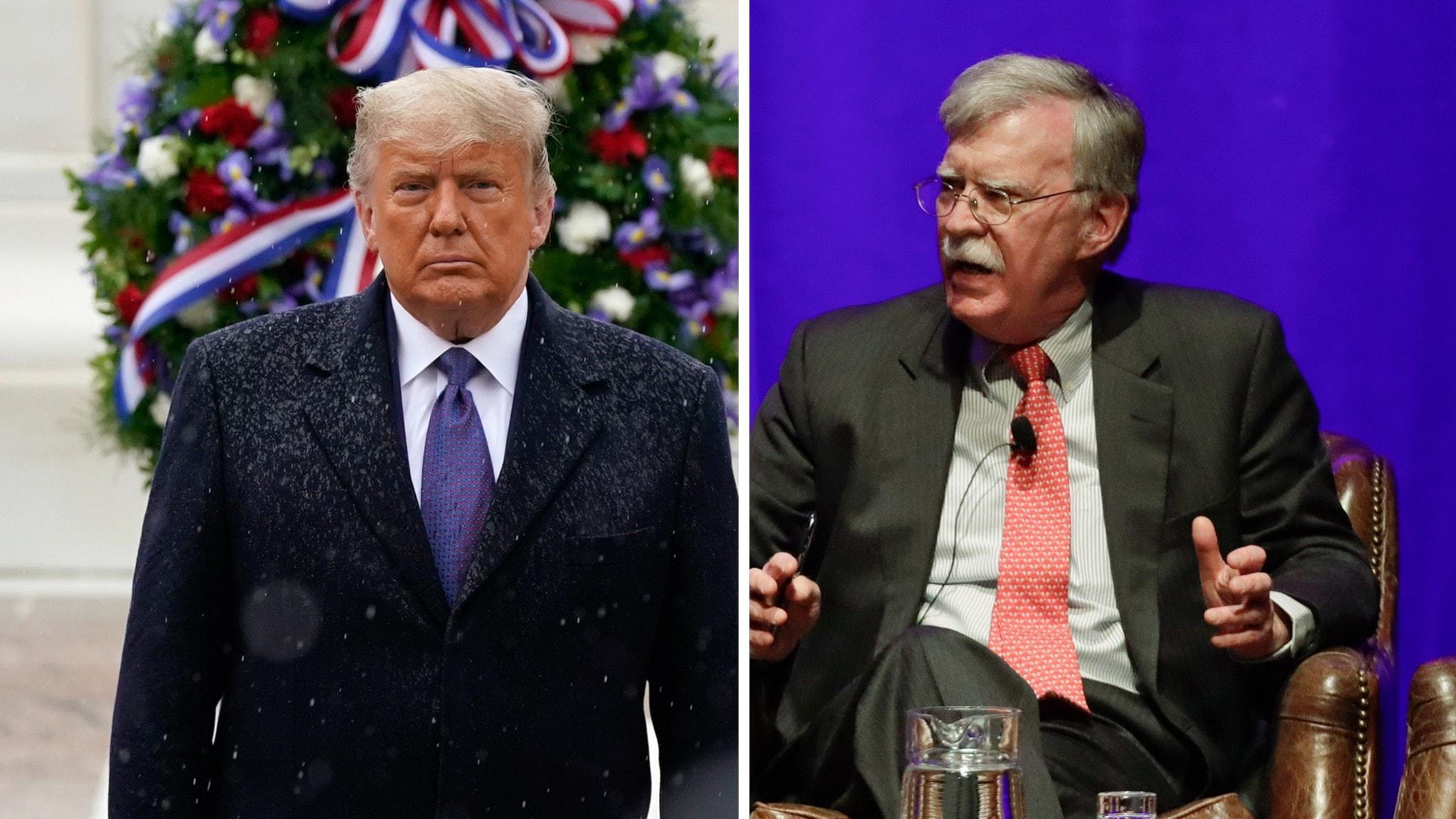 Tidigare rådgivaren John Bolton kritiserar Trump – hör hela intervjun