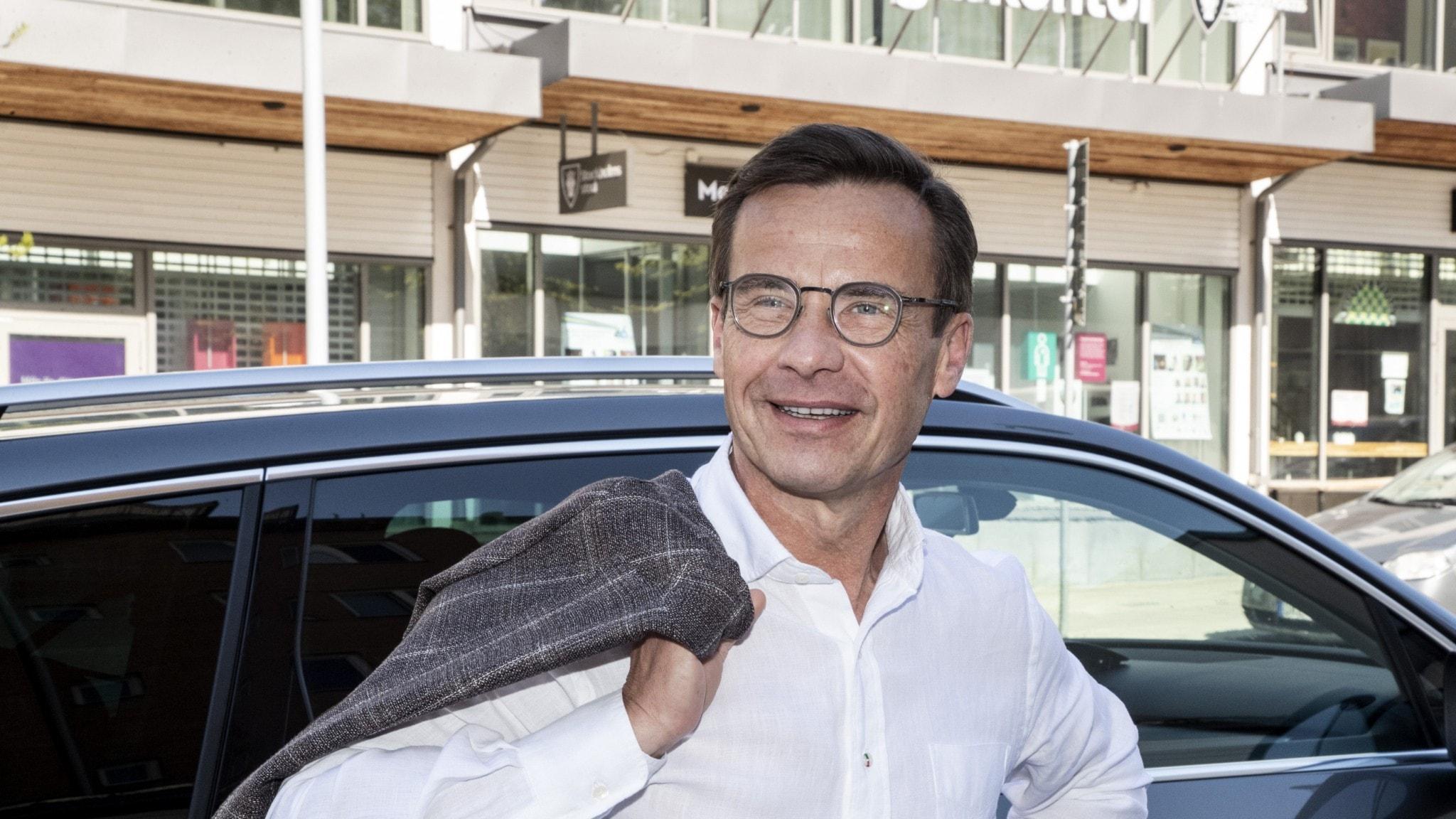 Ulf Kristersson på Järvaveckan.