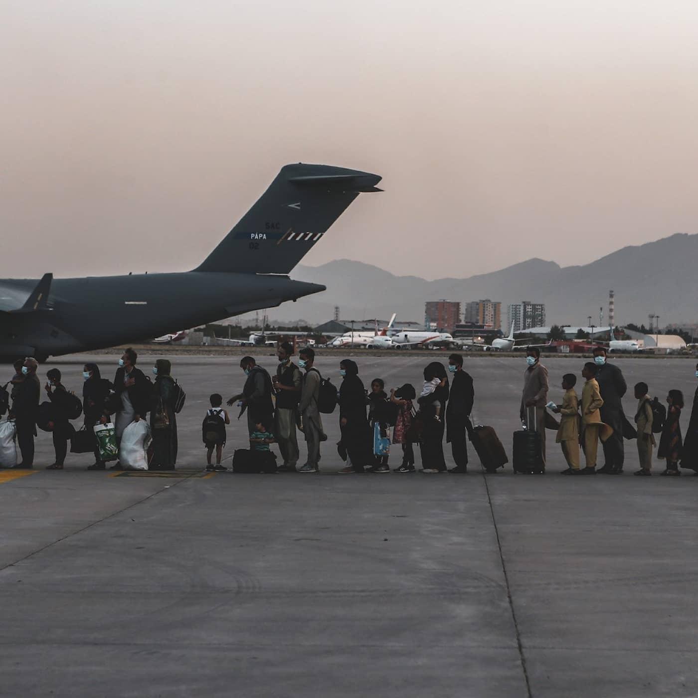 Evakueringen från Kabul: En kom ut – en blev kvar