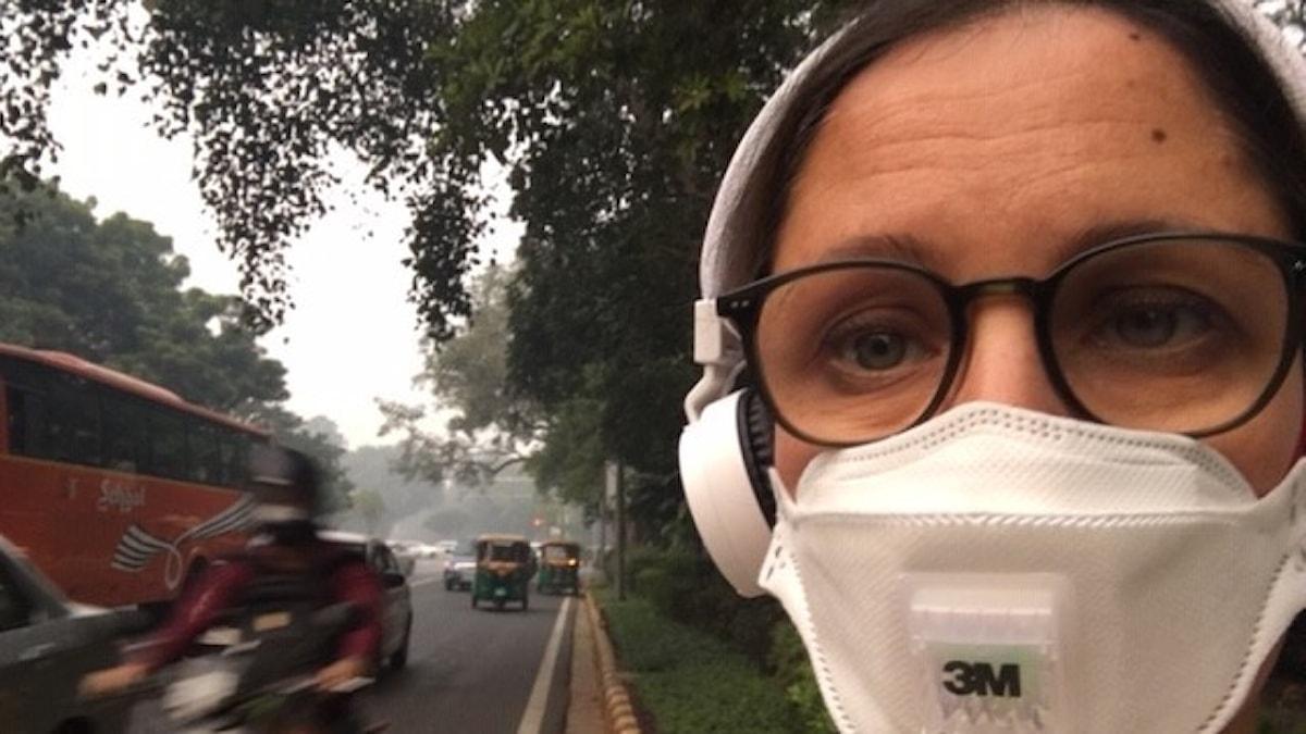 Naila Saleem i New Delhi