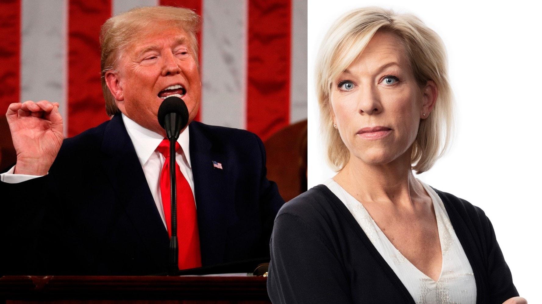 Ginna Lindberg: Trump gynnas på kort sikt