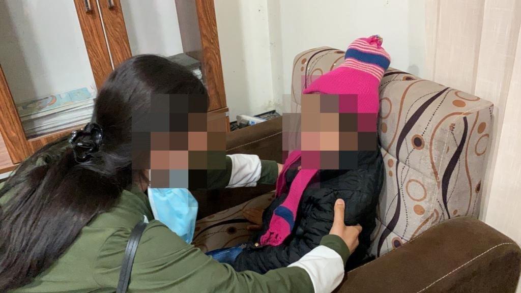 Yazidiska före detta sexslavar hos IS återförenas med sina barn.