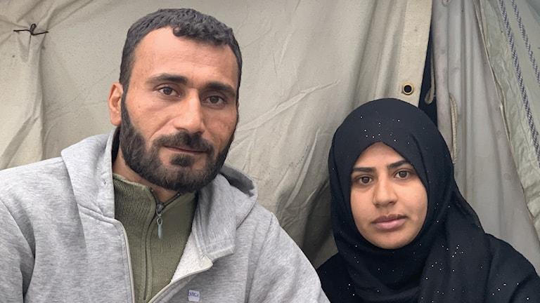 Ibrahim och Ayatte oroar sig för att bli återsända till Turkiet