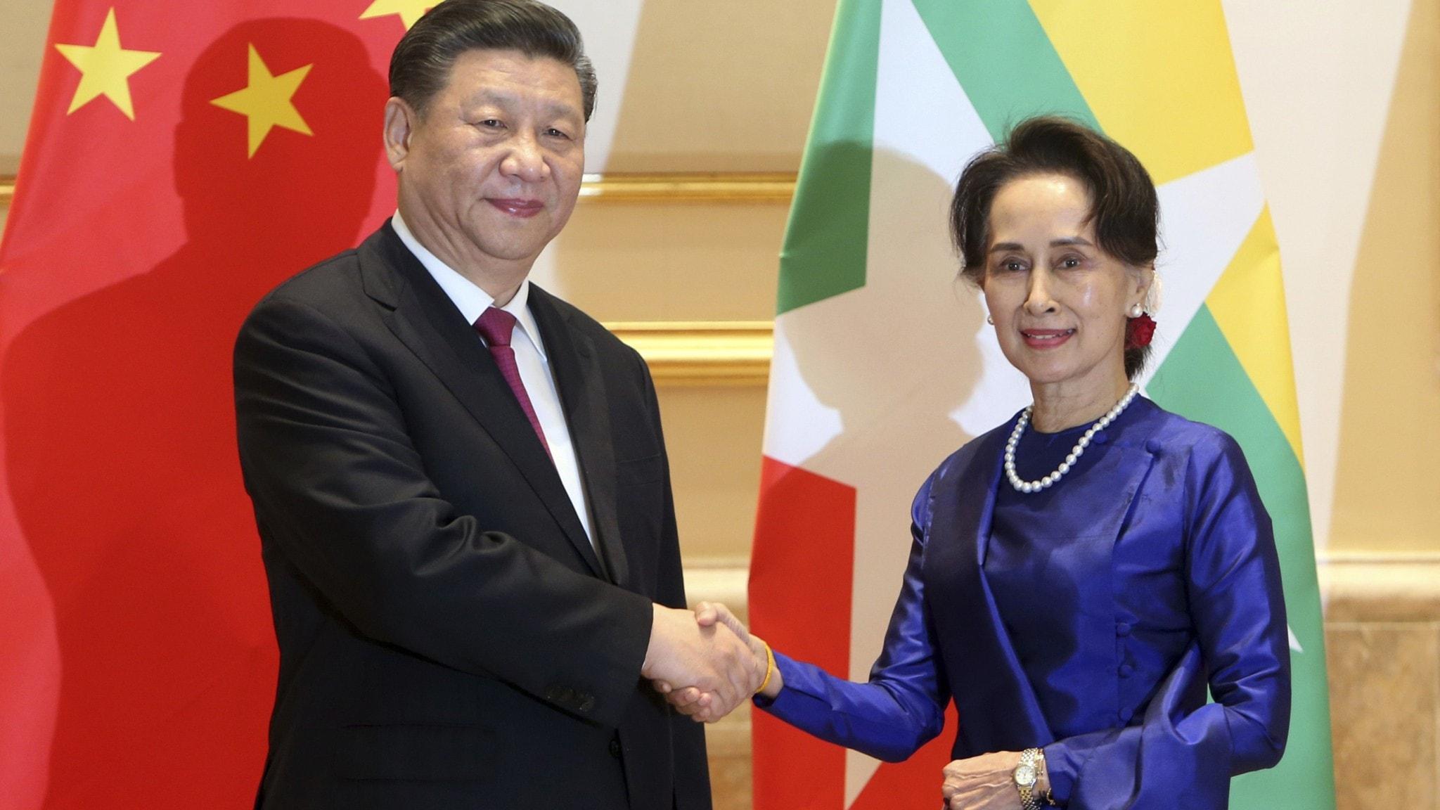 Kinas nya miljardavtal oroar lokalbor i Myanmar