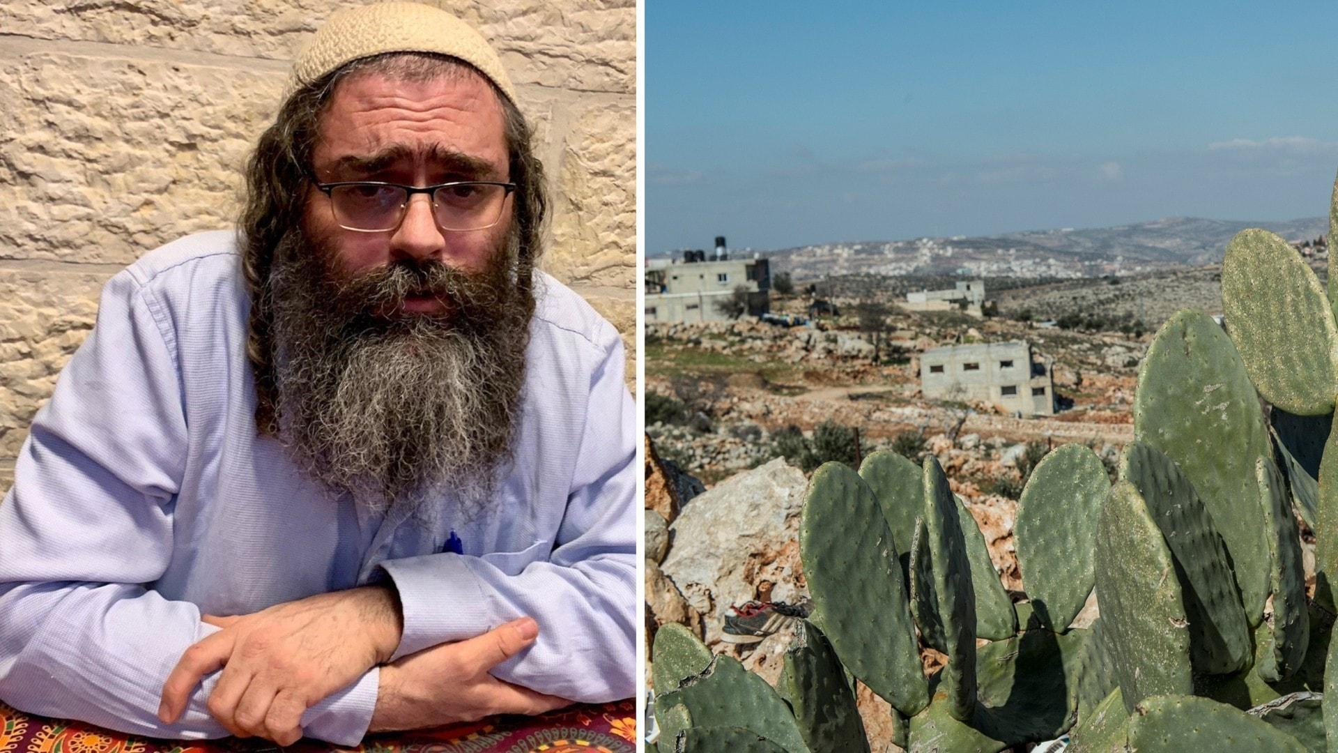 Michaels son misstänks ha dödat en palestinier