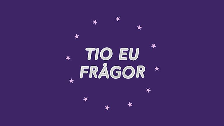 Tio EU-frågor är en serie om hur EU fungerar och hur beslut påverkar vår vardag. En serie av SMTRADIO.