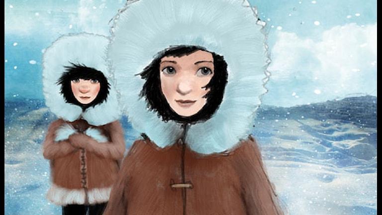 Del 1: Systrar på Blåvik. Illustration: Alexander Janson.
