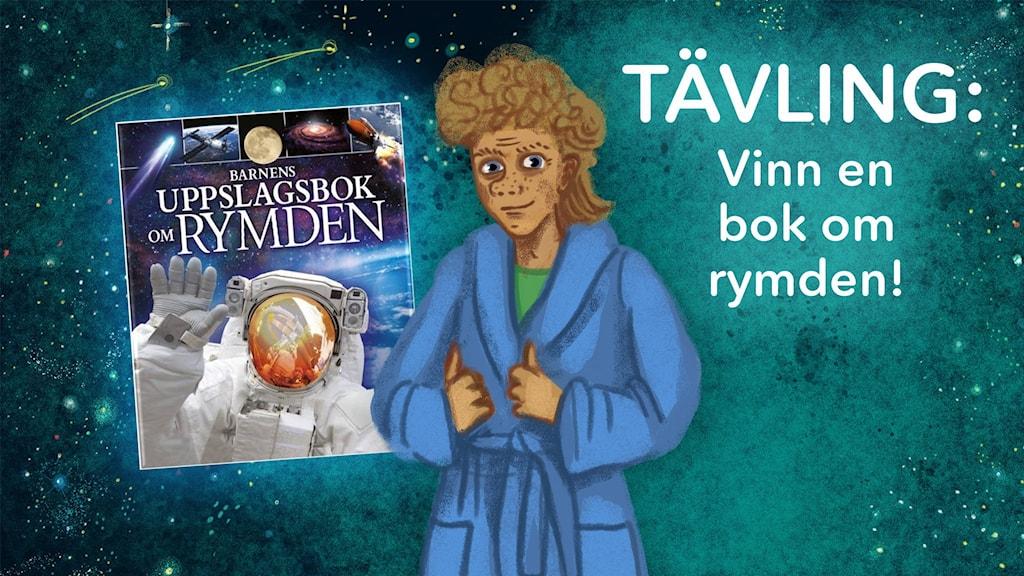 Julkalendertävling: Vinn en bok om rymden!