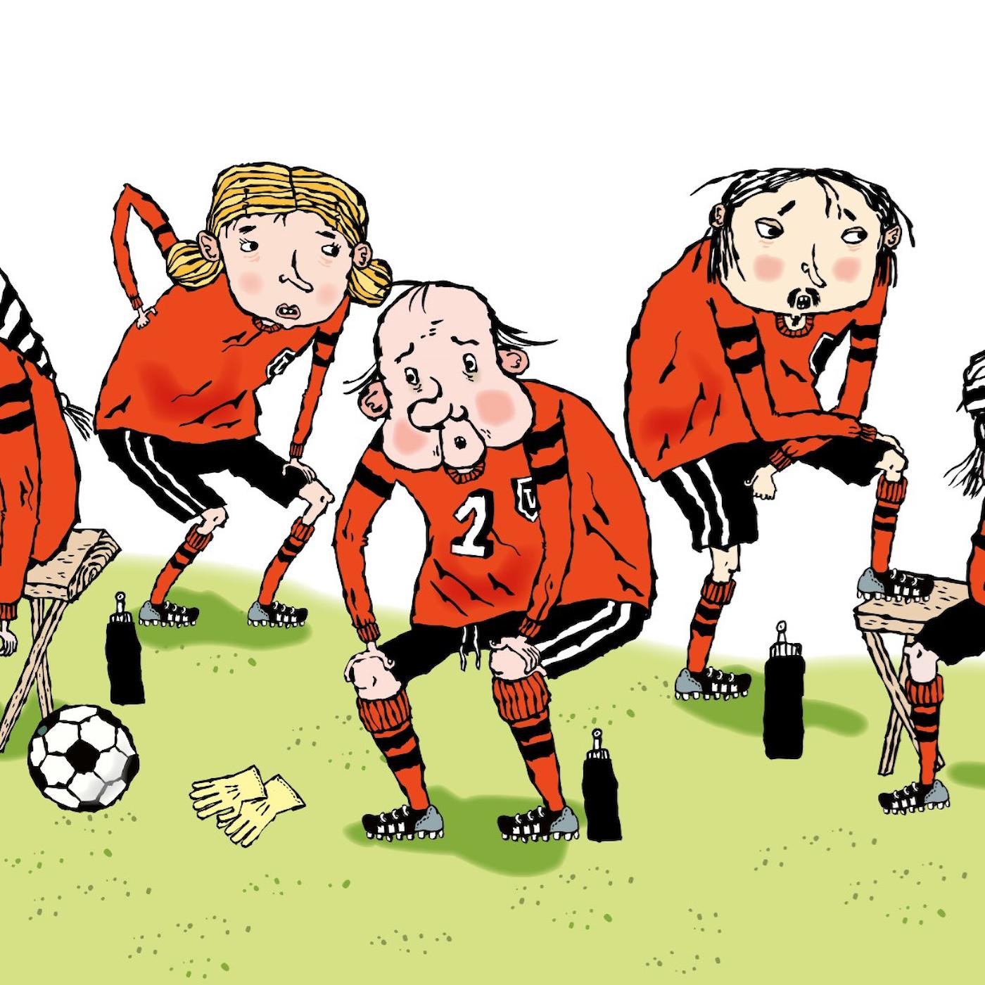 LasseMaja och Fotbollsmysteriet, del 2: Silverbucklan är borta