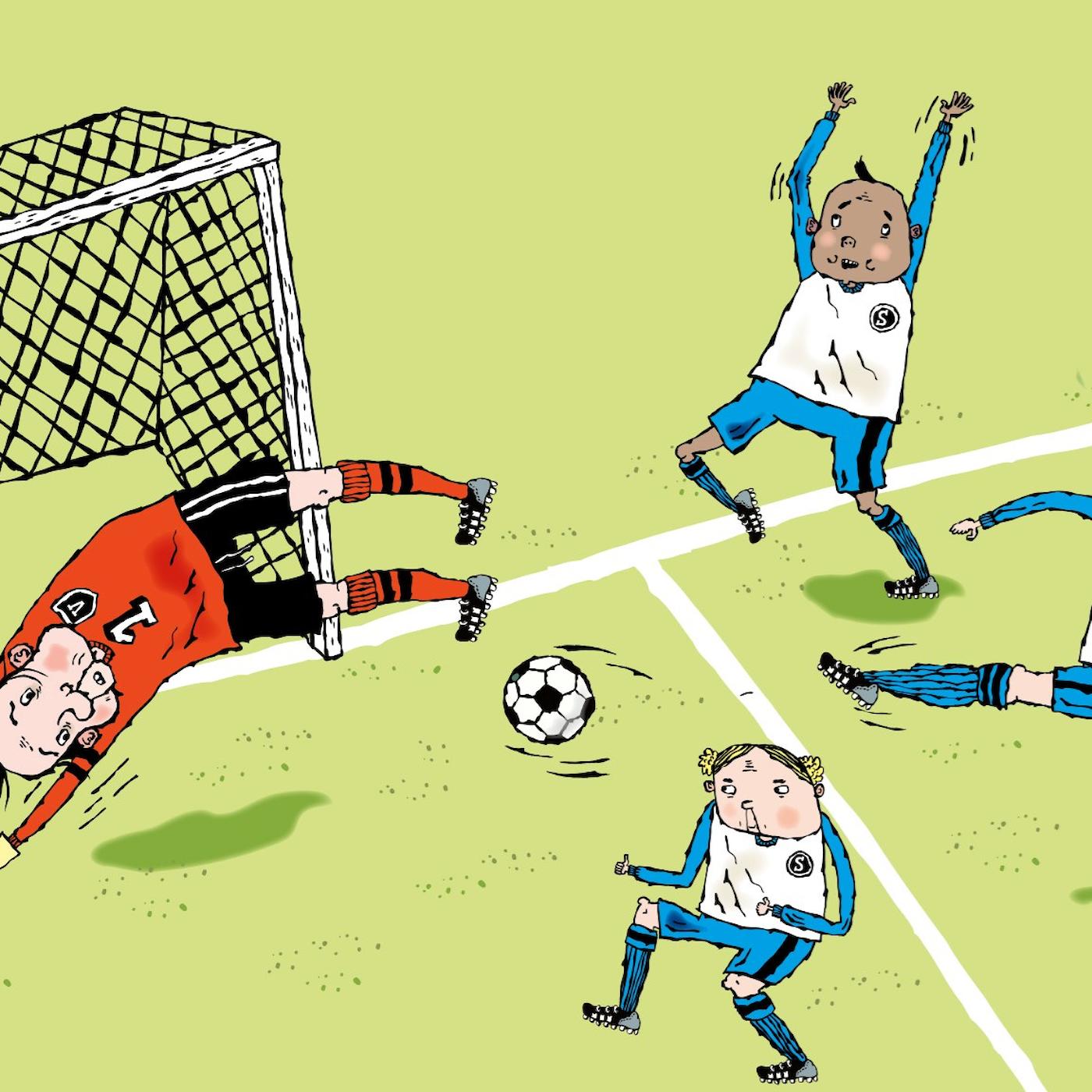 LasseMaja och Fotbollsmysteriet, del 1: Heja Valleby!