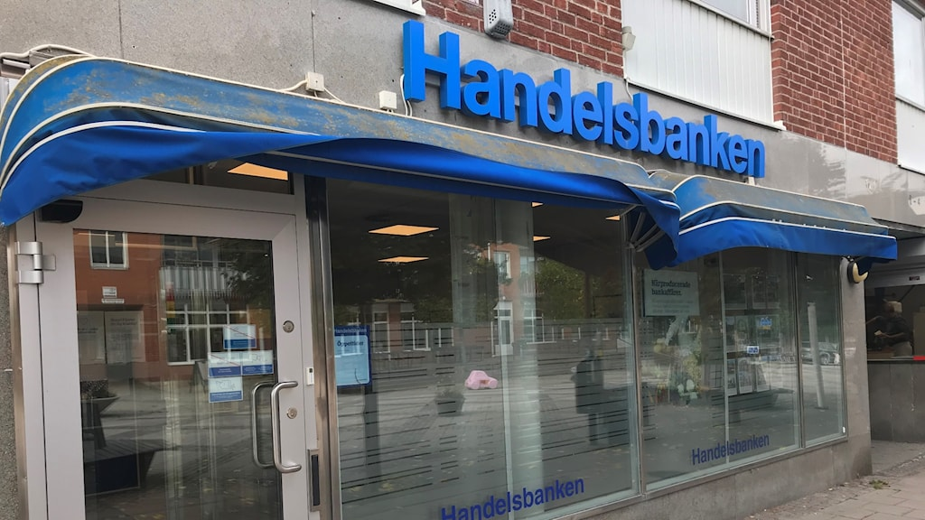 Handelsbankens kontor i Järna.