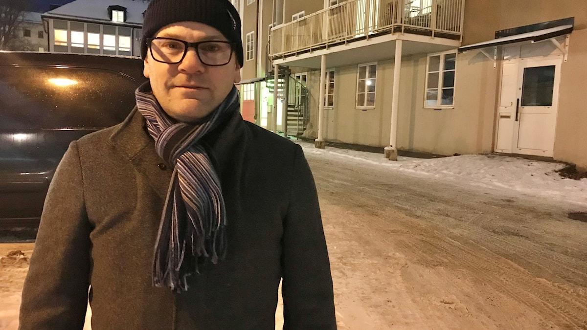 Mattias Carlsson, vaccinationsamordnare i Södertälje.