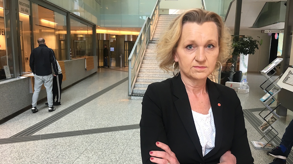 Kommunalrådet (S) Boel Godner i Södertälje menar att de ansträngt sig för att få fler att rösta.