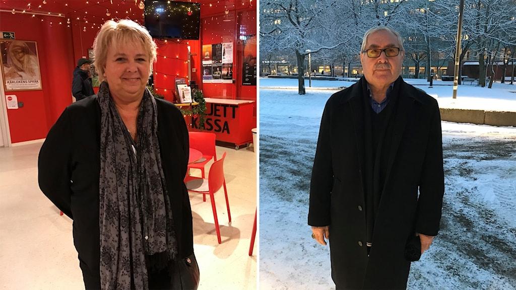 Eva Udo och Hamza Bal är positiva till den nya lagen.