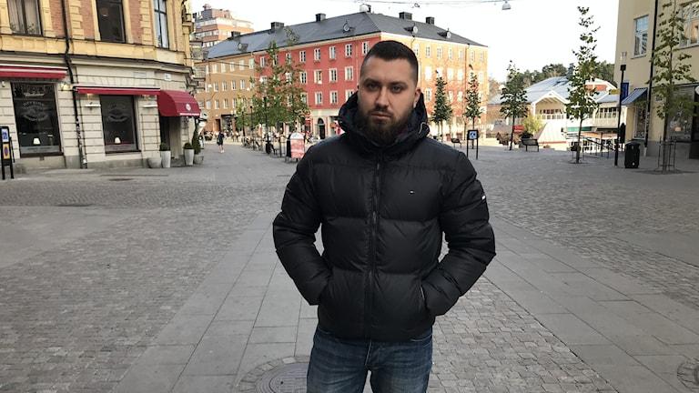 Elie Sassine kom till Sverige 2013.