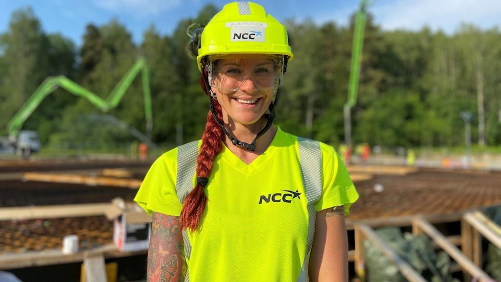 Malin Thorhede, Blockchef Betong på NCC
