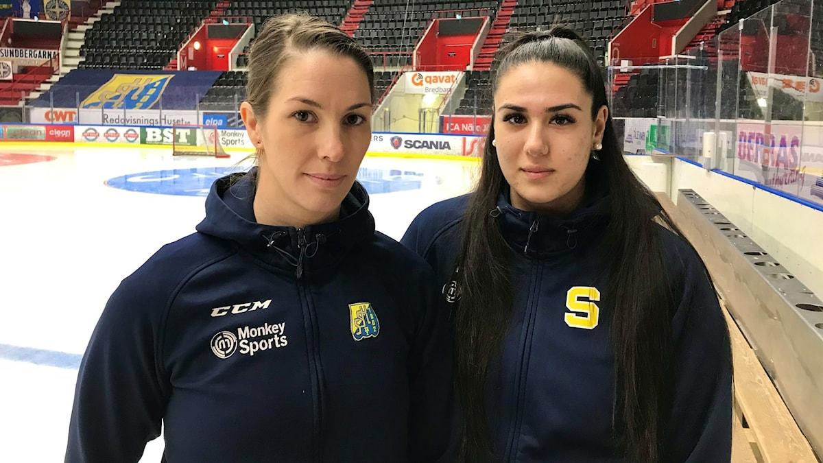 Hockeyspelare från Södertäljes damer.